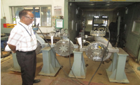 Case Study -Inspection & Expediting services for High Pressure Process Pumps