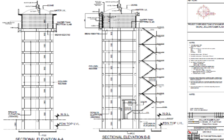 Case Study – Detail Engineering and Project Management Services for Overhead Tank